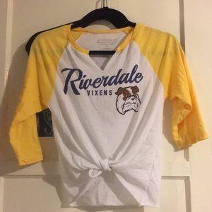 Riverdale vixens baseball tee